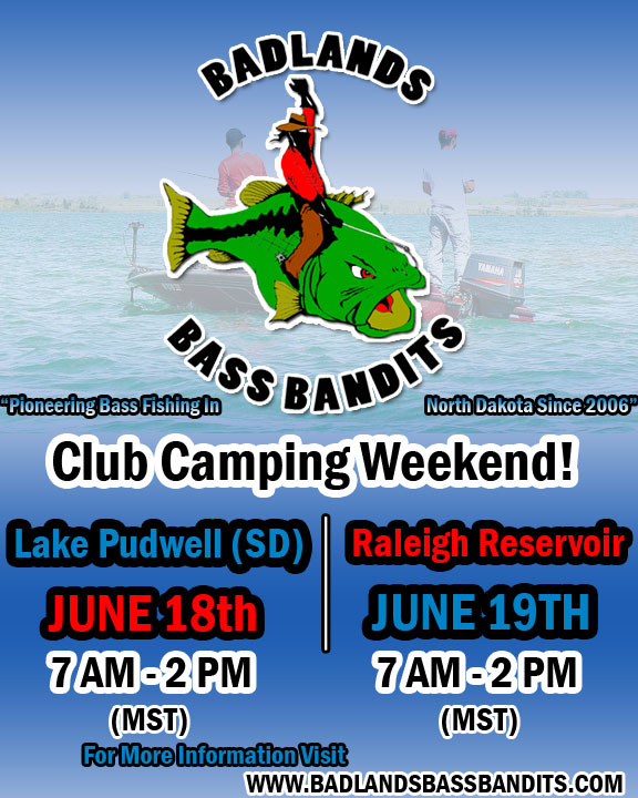 Camping weekend flyer