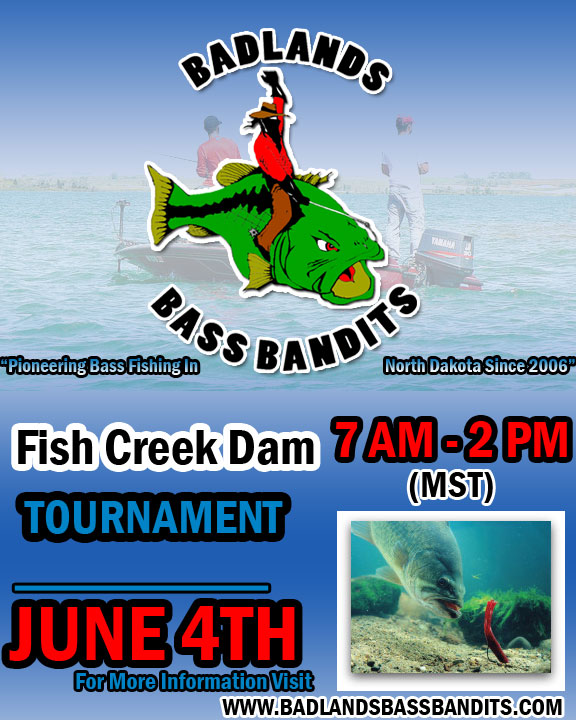 Badlands bass bandits extras for Fishing tournament scales